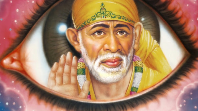 Lord Sai Baba Eye  Wallpaper