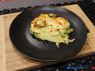 Carole's Chatter: Leek Zucchini & Potato Bake