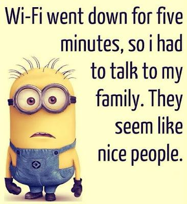 Wi-Fi Went Down Funny Joke