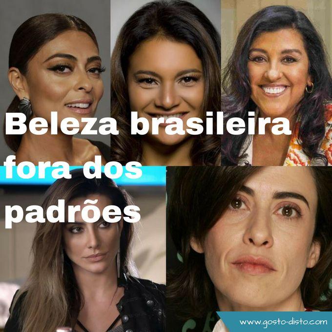 Atrizes brasileiras lindas mas fora dos padrões de beleza