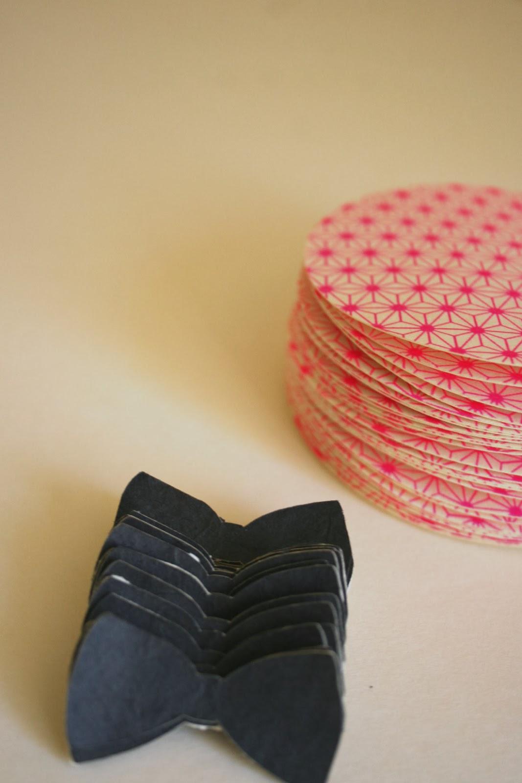 faire-part naissance graphique papier japonais fait main cadeau invité