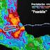 El huracán Franklin tocó tierra aproximadamente a las 00:00 horas en el municipio de Vega de Alatorre, Veracruz