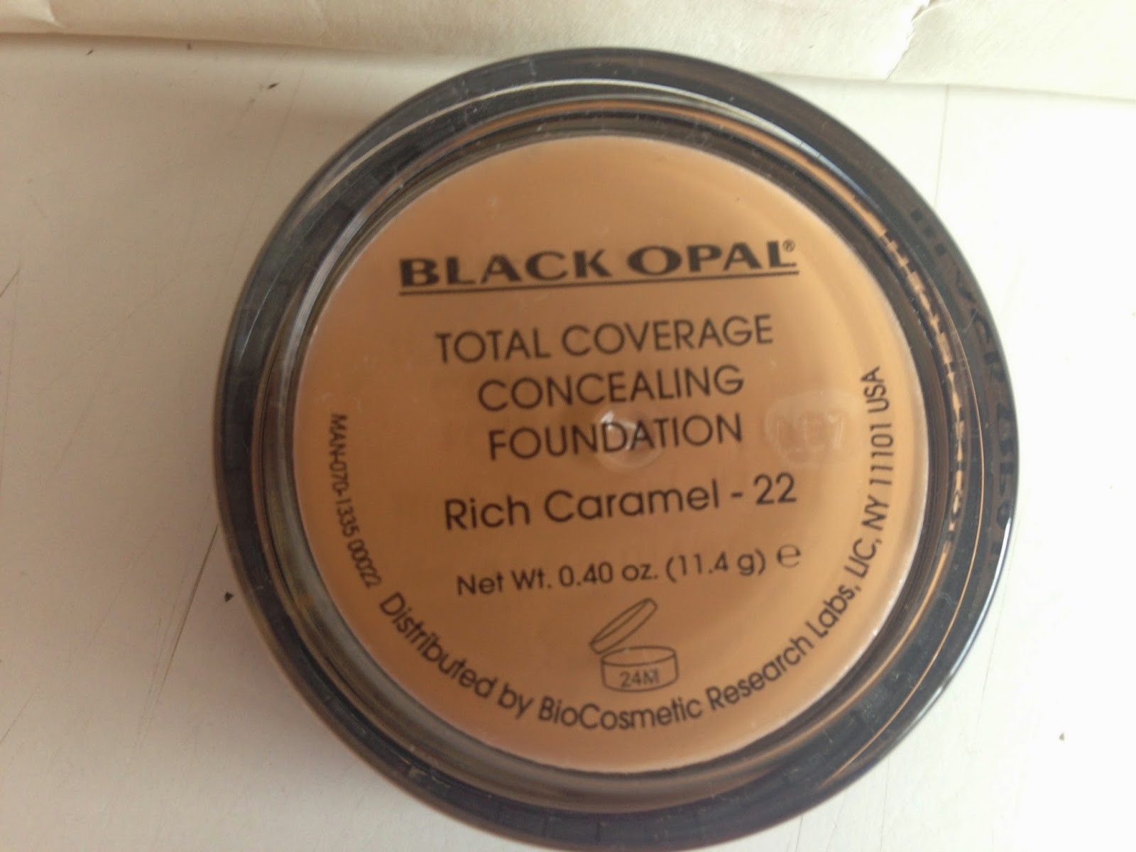 Black Opal Total Coverage Concealing Foundation - www.modenmakeup.com