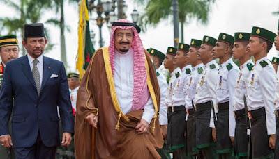 Ini Hasil Kunjungan Raja Salman ke Brunei Darussalam