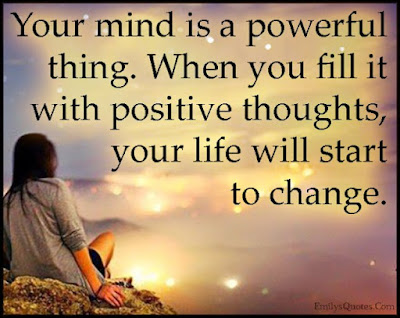 Train Your Mind To Think Positive