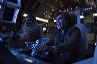 Han y Chewbacca en el Halcón milenario
