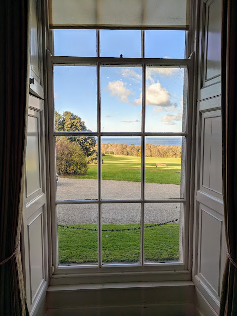 View from the drawing room: Ardgillan Castle Afternoon Tea