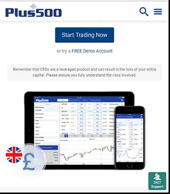 Trade anywhere, anytime using Plus500 various platforms