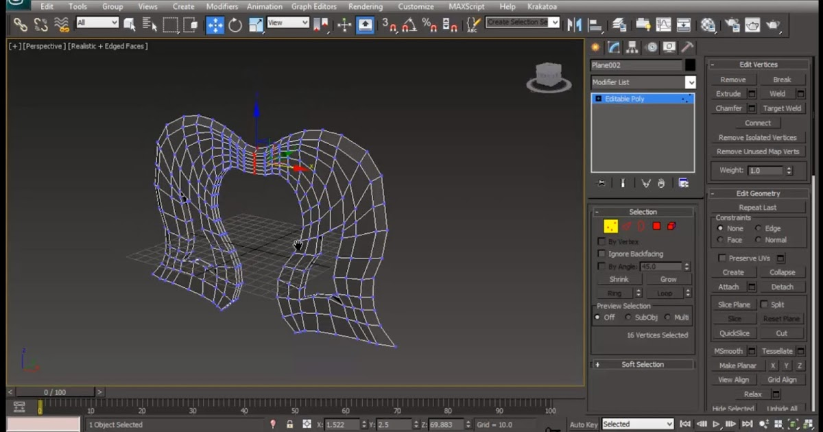 Axe modeling in 3ds max Part 1 | CG TUTORIAL