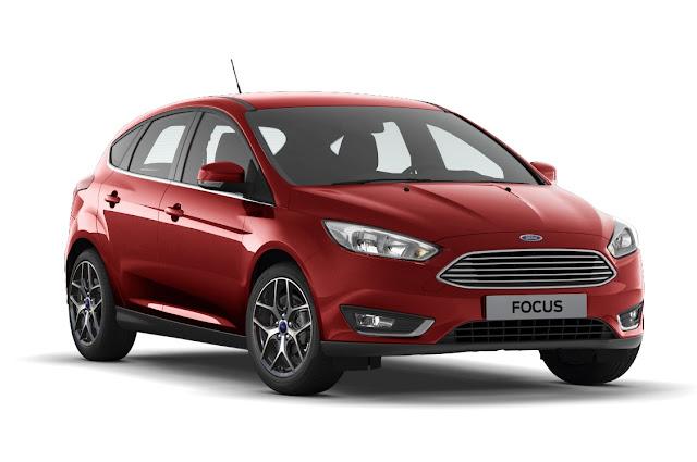 Ford Focus 2017 Vermelho Toscano