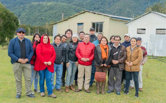 IND entrega terreno para construir sede multiuso en Cochamó