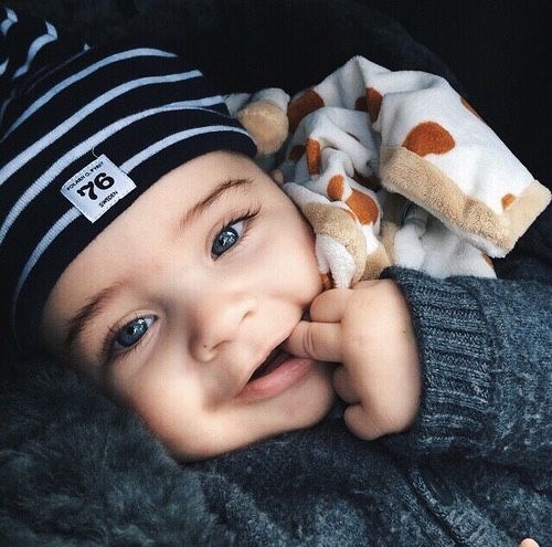 Beautiful & Cute Baby Boy Image