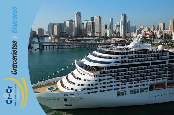 NOTICIAS DE CRUCEROS - MSC Cruceros nos ofrece cruceros por el Caribe todo el año con vuelos incluidos desde Madrid y Barcelona