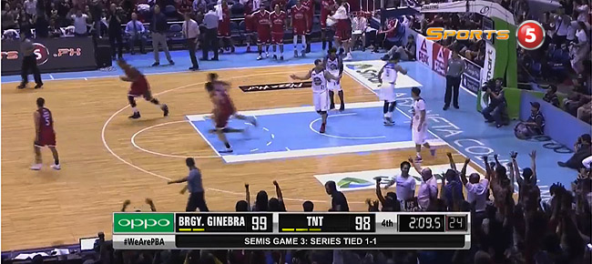 Ginebra def. TNT, 106-103 (REPLAY VIDEO) Semis Game 3 / October 6
