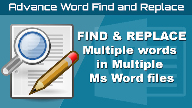Find And Replace Multiple Files 1.5 [Ingles] [UL.IO] Advance-word-find-replace