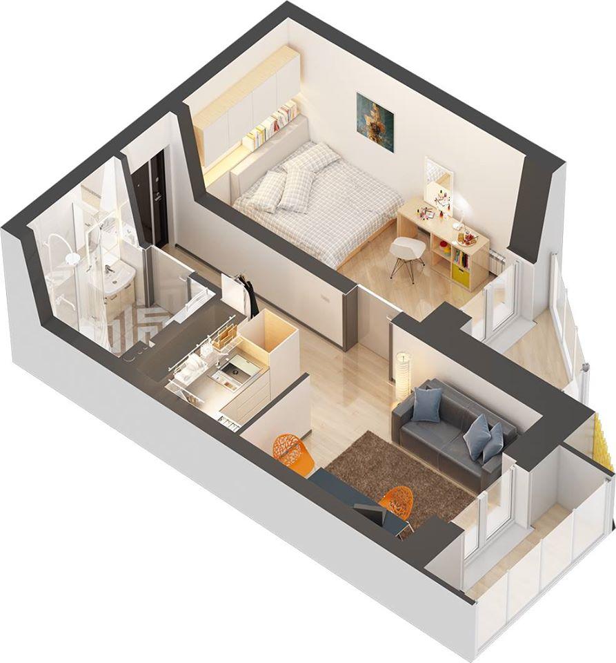 65 Desain Interior 3D Rumah Minimalis Terbaru 2017 - 2018 - Rumahku Unik
