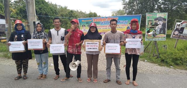 Pemuda Pemudi Bersinergi Adakan Penggalangan Dana ke Jalan