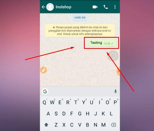 Langkah Ketiga Supaya WA Terlihat Offline Saat Chatting Terbaru 2019 6