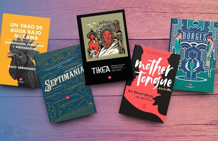 Cinco libros de Rey Naranjo Editores para leer en la FILBo 2018