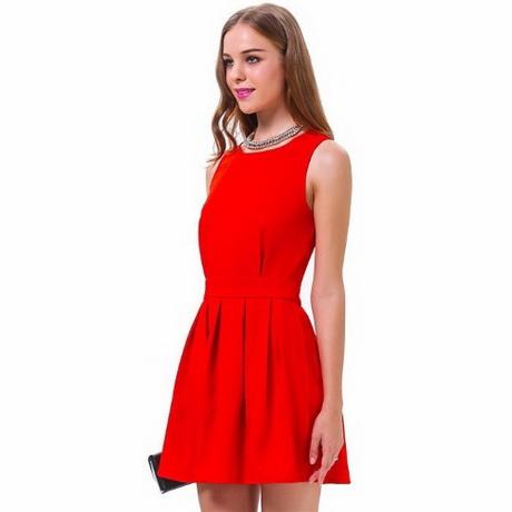 Vestidos de fiestas rojos cortos