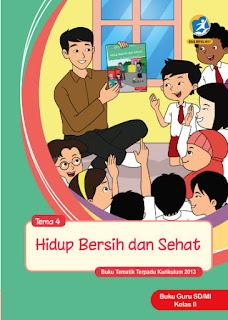 Tema 1 Hidup Bersih dan Sehat Buku Guru Kelas 2-II Kurikulum 2013 Revisi 2017