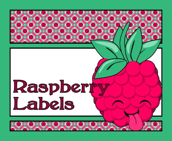 Don T Eat The Paste Raspberry Jelly Labels