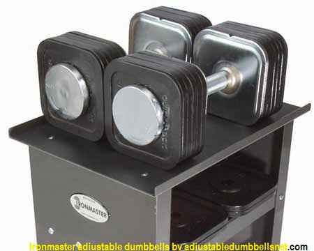 Ironmaster 75 Pound Adjustable Dumbbell System