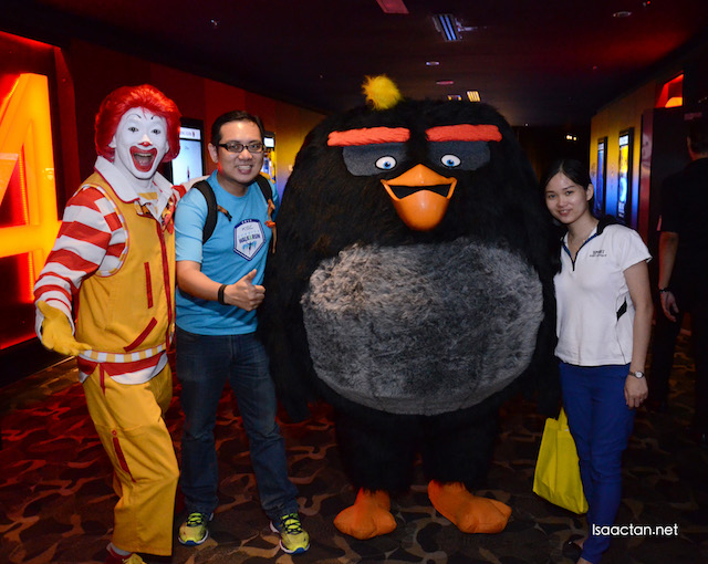Angry Bird, Ronald McDonald and US!