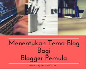 cara menentukan tema blog