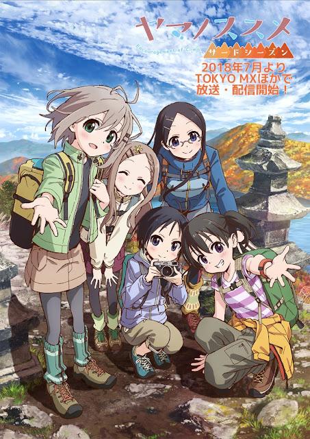 Nuevo proyecto anime para Yama no Susume.