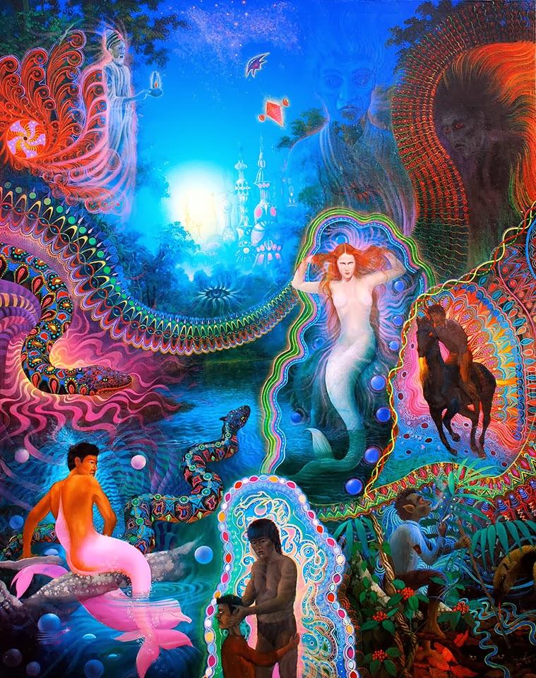 Ayahuasca-Inspired Art by Anderson Debenardi