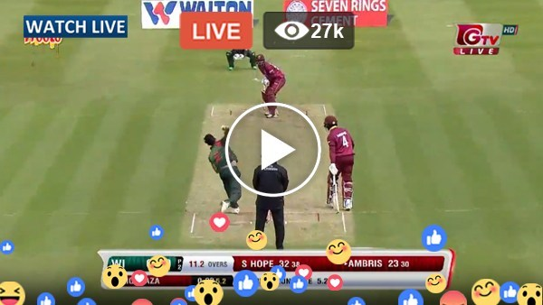 Bangladesh vs West Indies Live Streaming | Live Cricket Score | Cricket Scorecard