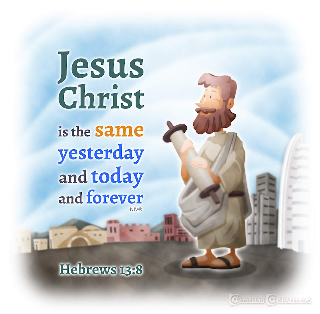 Word of God: Jesus never changes