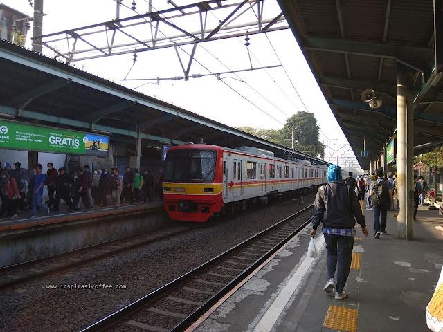 KRL Jakarta Bogor