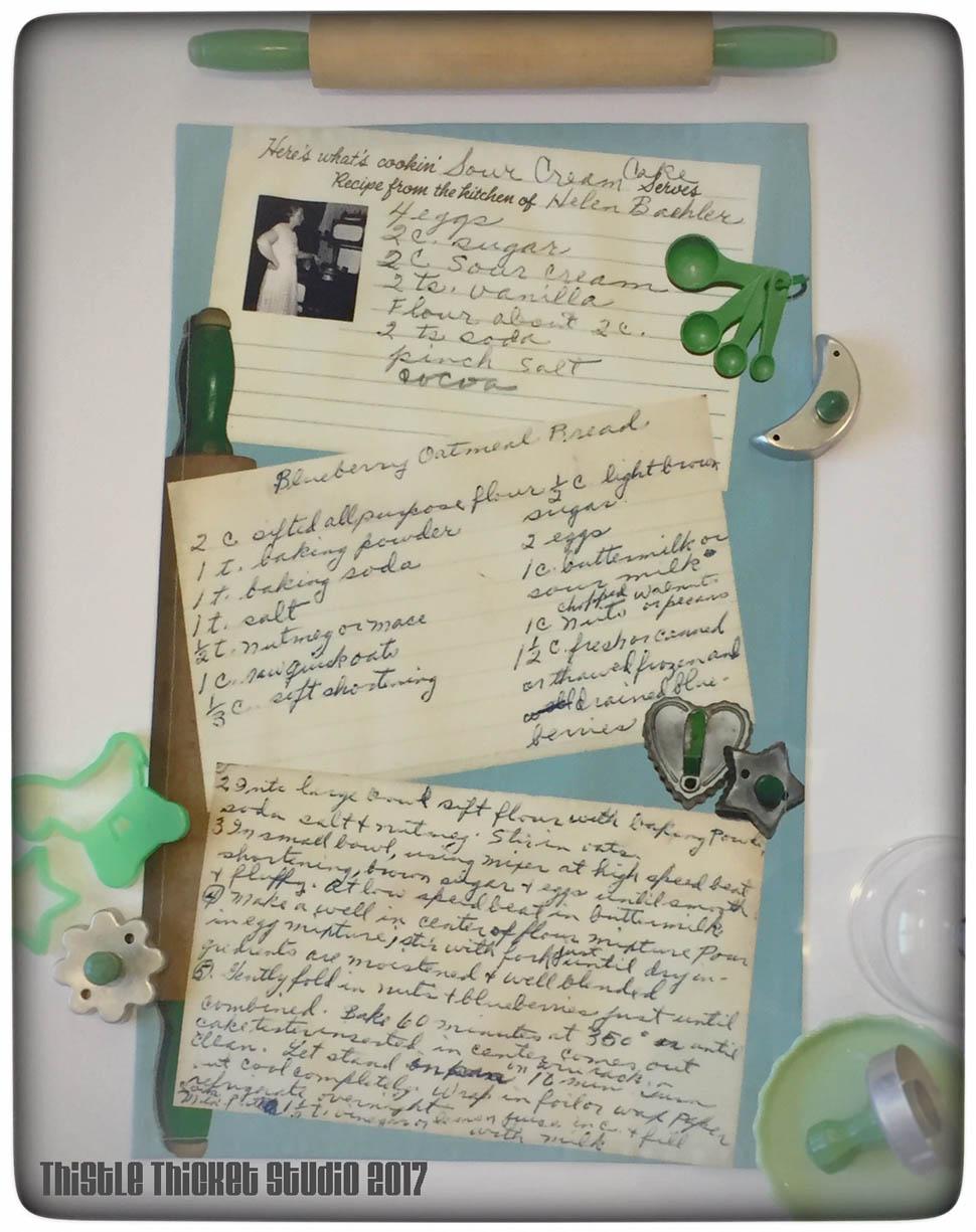 Grandma S Kitchen Recipe Cards