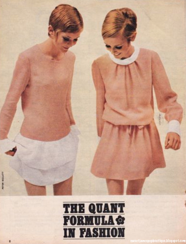 MARY QUANT 1960s FASHION DESIGNS #WEWANTQUANT