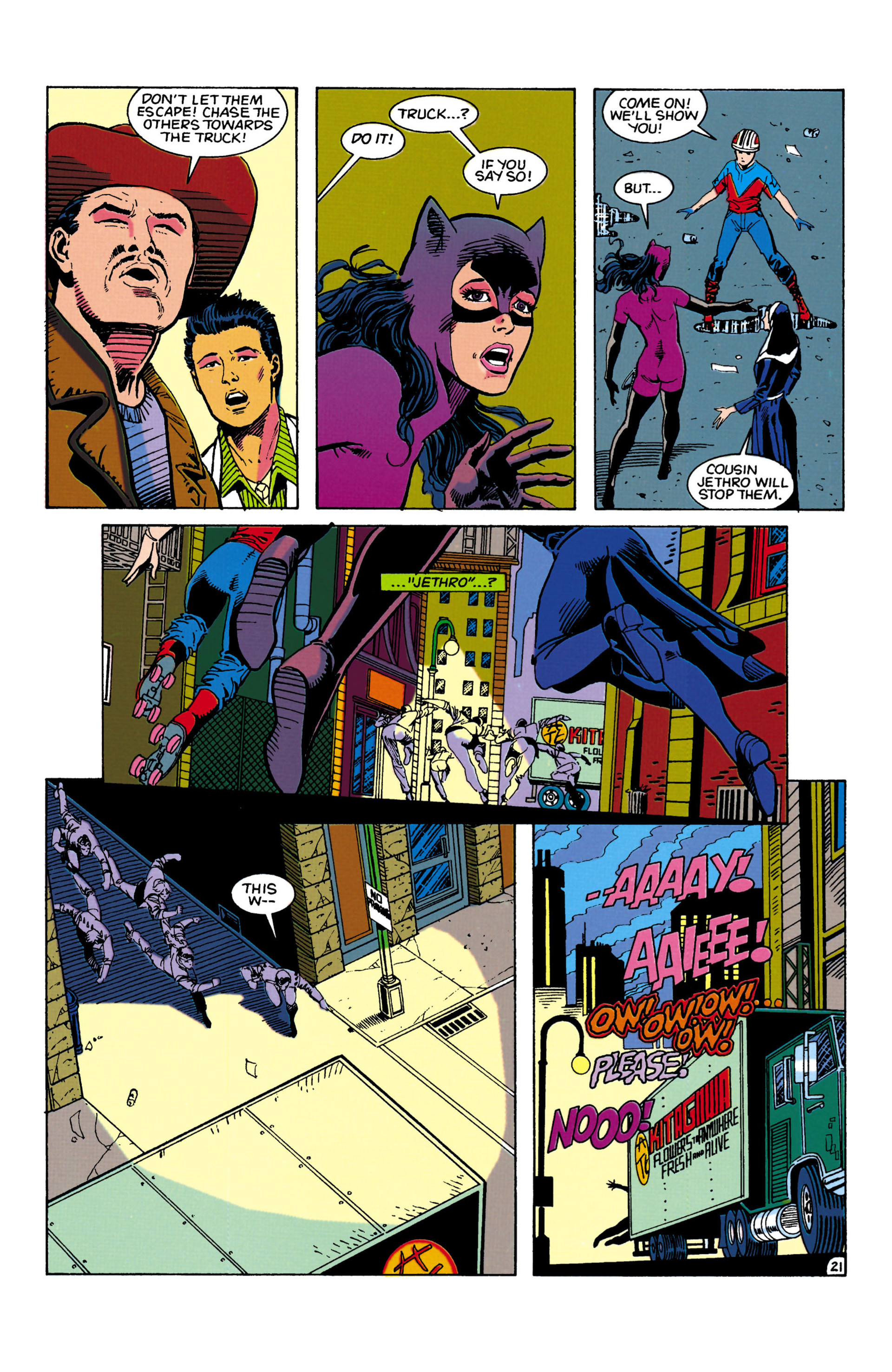 Catwoman (1993) Issue #5 #10 - English 22