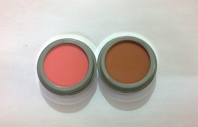 Jordana Powder Blush in Mocha and Rouge Review & Swatches