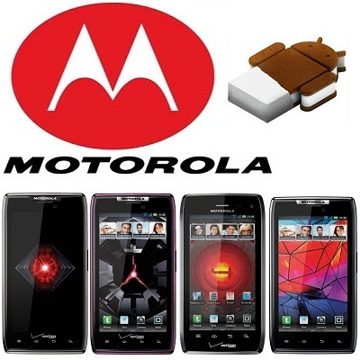 In Brief Update for The Motorola Razr, But Will Not Be Ice Cream Sandwich (For Now)