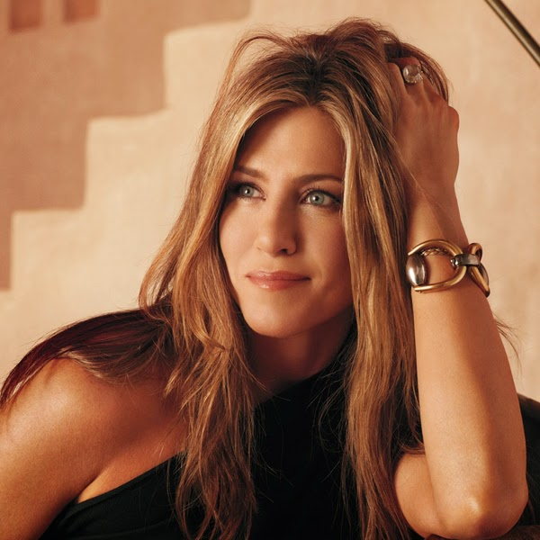 Jennifer Aniston - co-owner of the Living Proof hair care line