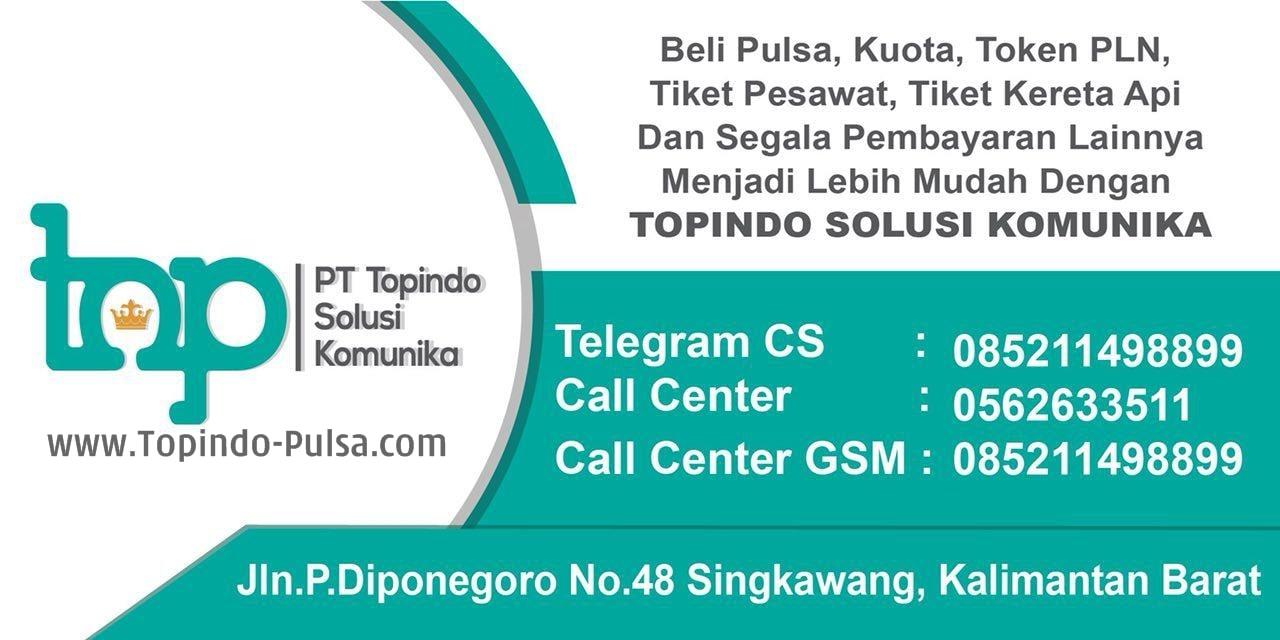 topindo-pulsa.com Agen Kuota Pulsa Murah Cepat Terpercaya