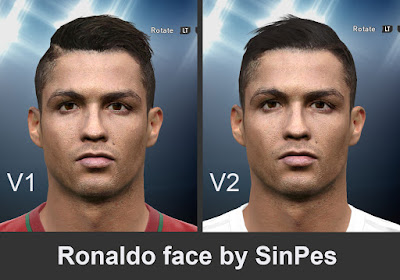 RONALDO FACE BY SINPES