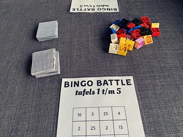 tafels vermenigvuldingen oefenen spelletje
