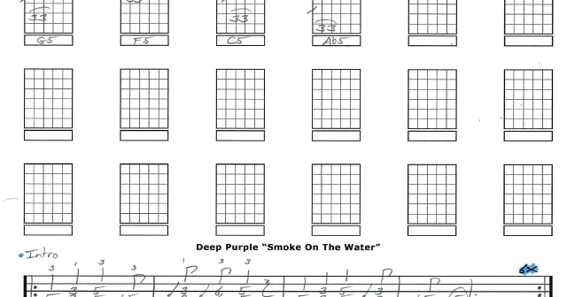 Guitar guitar tabs smoke on the water : Jeffrey Thomas | Skype lessons for guitar, bass, and ukulele: Deep ...