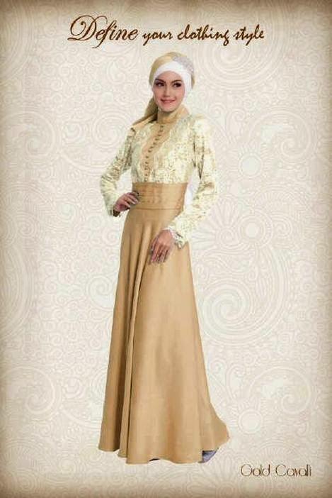Model baju gamis Dress Kebaya Terbaru