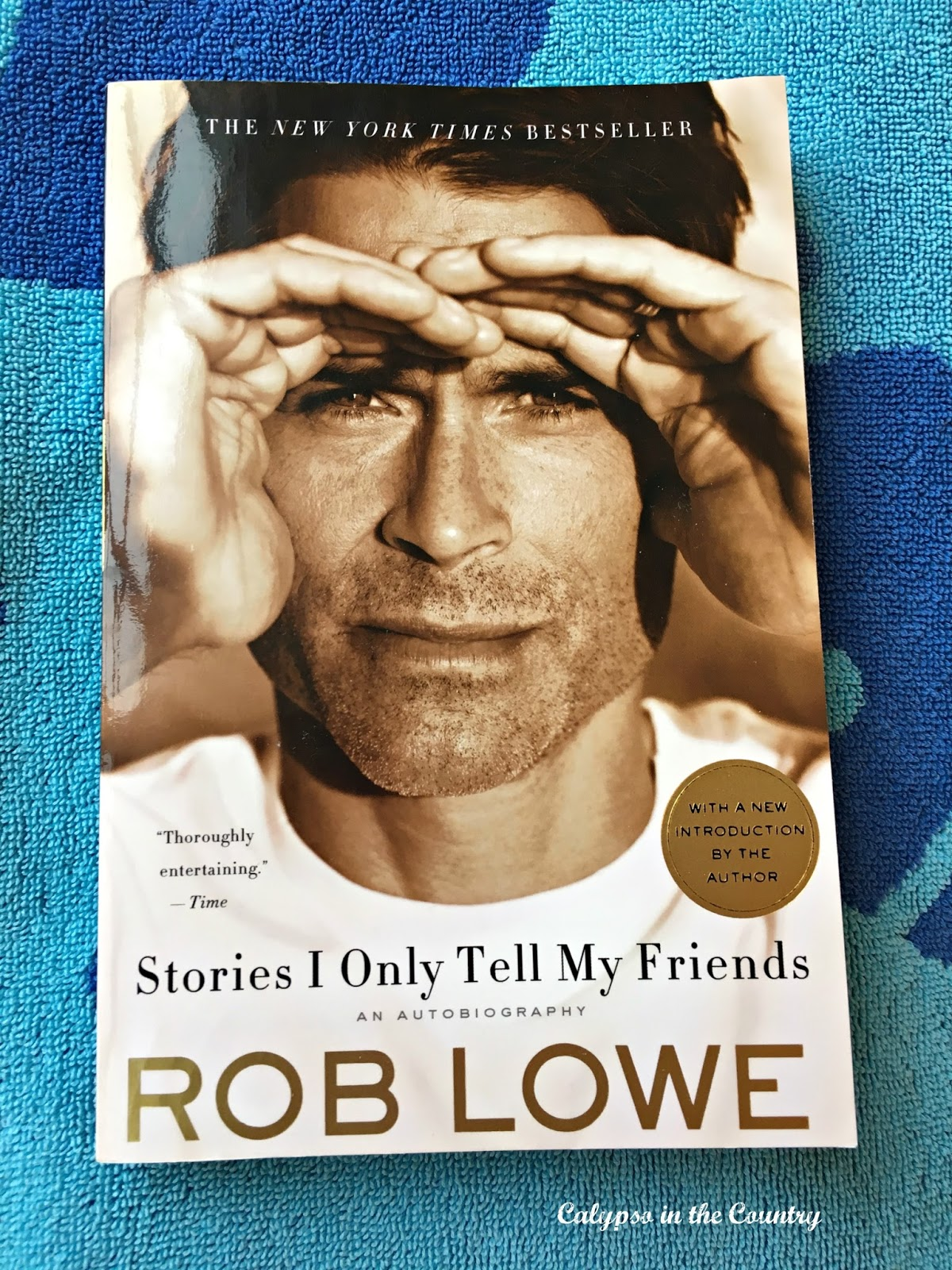Rob Lowe Autobiography - So entertaining a great to read on the beach!