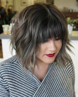 short hairstyles highlighted