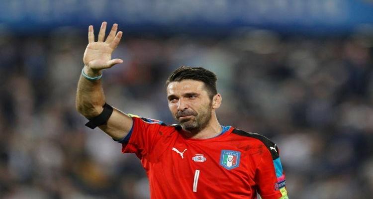 تصرف غير متوقع من بوفون بعد خسارة إيطاليا أمام ألمانيا بركلات الترجيح