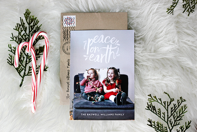 Stylish Family Holiday Cards