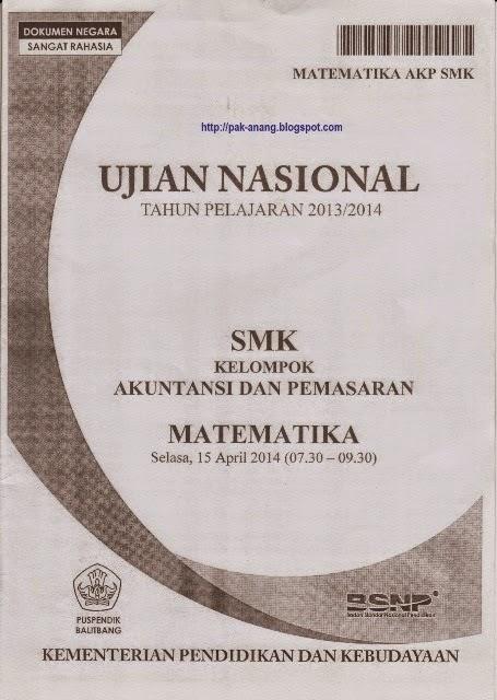 Download Soal Un Smk Tahun 2014 Agustyar